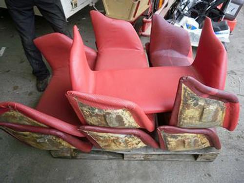 Neu gepolsterte Sitze.